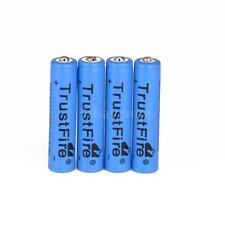 4PCS TrustFire AAA 10440 AKKU 600mAh 3.7V Wiederaufladbare Lithium Batterie M3K4