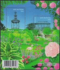 2010 FRANCE BLOC F4384** BF Salon du Timbre 2010 Jardin des Plantes,  sheet MNH