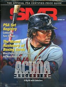 November 2020 SMR Sports Market Report Price Guide New Never Read Sealed Acuna