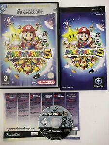 Mario Party 5 Nintendo GameCube Avec Notice Et Point Vip Pal