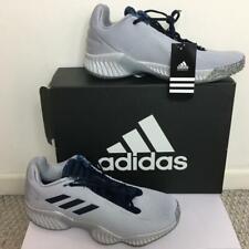 Adidas SM Pro B 2018 Low HS ELITE Mens Basketball Shoes 13.5 Gray Navy D97638