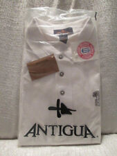 L Mens Antigua Short Sleeve Collared Embroidered Kentucky Wildcats Logo Shirt