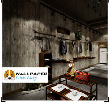 Wall Paper Rolls Wood Home Wallpaper Decal Brown Timber Wood Effect