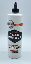 Bish's Tear Mender Instant Fabric and Leather Adhesive 16oz TM16EA SEALED NEW