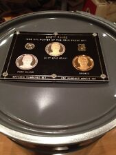 BRETT FAVRE 1996 NFL Player Of The Year Proof Set .999 Fine Silver Coin # 87