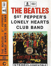 BEATLES SGT PEPPERS LONELY HEARTS CLUB BAND CASSETTE France EMI ODEON BLUE shell
