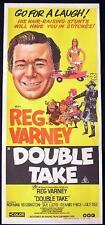 DOUBLE TAKE aka GO FOR A TAKE Reg Varney 1972 Daybill Movie Poster