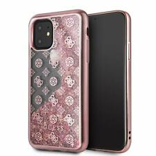 """Case Glitter Guess Cover Glitter 4G Peony for Apple IPHONE 11 6.1 """" 2019"""
