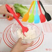 1*Multicolor Non Stick Butter Cooking Silicone Spatula Set Cookie Pastry Scraper