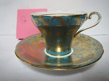 AYNSLEY TEA CUP AND SAUCER              G