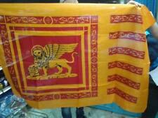 BANDIERA LEONE SAN MARCO REPUBBLICA SERENISSIMA VENEZIA FLAG grande cm100 X 140