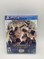 13 Sentinels: Aegis Rim - PlayStation 4 PS4 w/ Art Book ATLUS - NEW and SEALED!