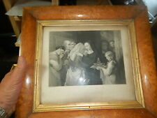 Old print art The Last Embrace Lithograph Charles Rolls T Uwins hoarder's estate