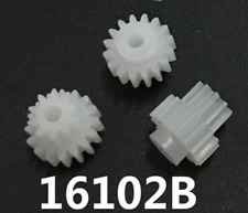 50pc Double deck Plastic Cogs Gear 2mm Hole dia 16Teeth 10 Teeth 16102B