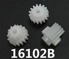 50pc Double deck Plastic Cogs Gear 2mm Hole dia 16Teeth 10 Teeth 16102B