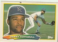 FREE SHIPPING-MINT-1988 Topps Big Danny Tartabull #230 ROYALS PLUS BONUS CARDS