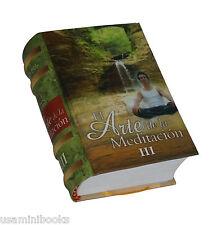 El Arte de la Meditación III libro miniatura fácil lectura coleccionable de Peru