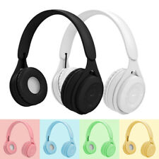 Bluetooth 5.0 Wireless Headsets with Microphone Stereo Headphones For Kids Girls