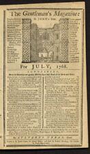 BEN FRANKLIN MAGIC SQUARE OF SQUARES RARE 1768 NUMERICAL PUZZLE DR BEN FRANKLIN