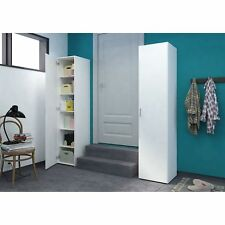 D-Scan Single Door White Storage Cabinet NEW