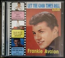 Frankie Avalon – Let The Good Times Roll Vol. 26 Cd  1990 Big Top NM