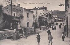 C1656) POPOLI (PESCARA), LAVATOIO E FONTANA DI OTTAIA.