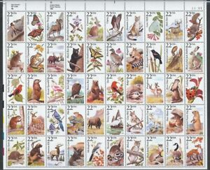 US #2335a MNH Full Sheet CV$50.00 1986 North American Wildlife [UR #11111]