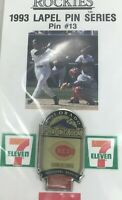 Baseball 1993 Souvenir Lapel Hat Pin #13 Colorado-Rockies Series