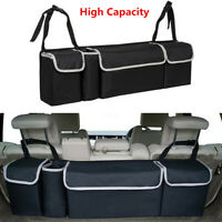 High Capacity Multi-use Oxford Car Seat Back Organizer Bag Interior Accessories