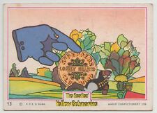 The Beatles - Yellow Submarine - Anglo Confectionery - No. 13 - 1968