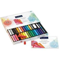 FABER-CASTELL MIX & MATCH 34-PIECE GELATOS GIFT SET-092633805664