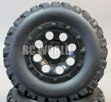 RC Short Course 1/10 OFF-ROAD WHEELS TIRES Package 3MM Offset  *SET OF 4*  BLACK