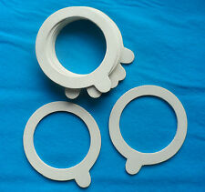 SEALING RINGS 70MM ID FOR GLASS JARS - PACKET OF 10 W For 550ml and larger jars
