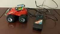 Vintage 1986 Echo Corded Remote Control Mini Wing 10 4x4 Red Dune Buggy