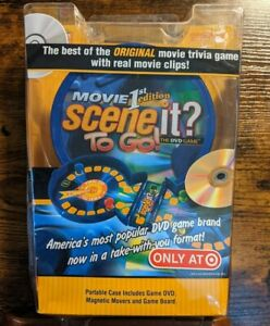 Mattel Movie 1st Edition SCENE IT? To Go! The DVD Game Travel Trivia NEW