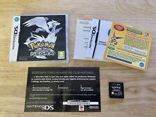 Pokemon Negra,  Nintendo DS, Falta Manual, Con Tarjeta Puntos Rascada