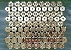 "1-50 Neodymium cup magnet 20×7mm Rare Earth 3/4""x1/4"""
