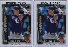 2X CODY BELLINGER 2016 Bowman Chrome REFRACTORS Insert Rookie RC Card $50 BV