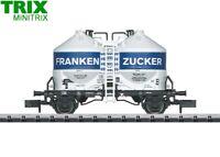 """Minitrix / Trix N 15955 Güterwagen Frankenzucker der DB """"Club 2015"""" NEU + OVP"""