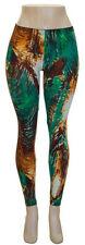 Leggings Junior Stretch Skinny Multi Tropial Print Size S/M- New w/ Tags
