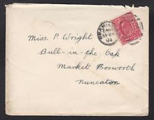 Kevii - 1d rosso su cover-timbrato beaminster 943-sept 1905 (N96)