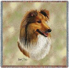 Lap Square Blanket - Shetland Sheepdog Sheltie Ii by Robert May 2357
