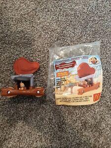 McDonalds Happy Meal Flintstones Vintage Rare Toys Figures 1994,  week 1 Toy