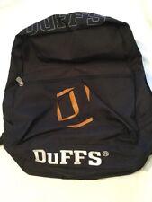 Duffs Skateboard Rucksack Backpack Shoulder Bag Adjustable Black White Mens New