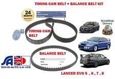 FOR MITSUBISHI LANCER EVO 4 5 6 7 8 2.0i 1996->NEW TIMING CAM + BALANCE BELT KIT