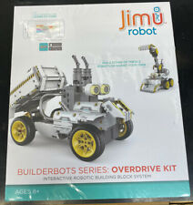 New UBTECH JIMU BuilderBots Series, Overdrive Kit, Learn Programming Ages 8+