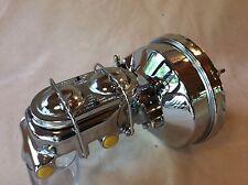 "Jeep CJ 7"" single diaphragm chrome Brake booster master cylinder & brackets"