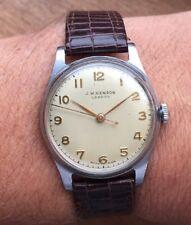 J W Benson London Watch 1950s Excellent Condition Dennison Case