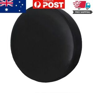 """Spare Tire Cover, 15"""" Pure Black Wheel Tyre Covers Protector For All Vehicle"""