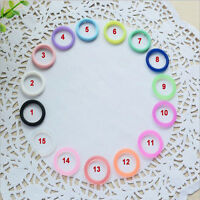5pcs/Set O-Rings Silicone Baby Dummy Pacifier Chain Clips MAM Adapter Holder  IY